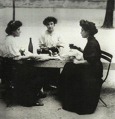 Pique-nique au jardin du Luxembourg - 1900