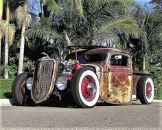 '36 Rad Rod pickup