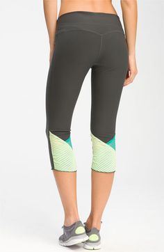 Nike 'Glissade' Capris available at #Nordstrom    Something other than black...