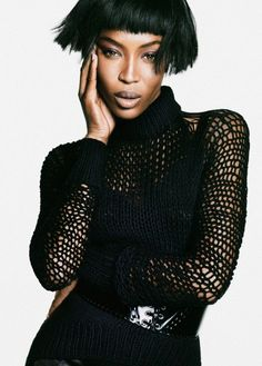 Editorials. Naomi Campbell. The Edit. October 2013. Nico. | SUPERSELECTED - Black Fashion Magazine - Black Models - Art | Portrait - Fashion - Editorial - Photography - Pose