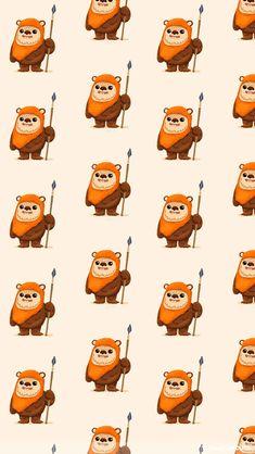 Ewoks. Lots of ewoks.