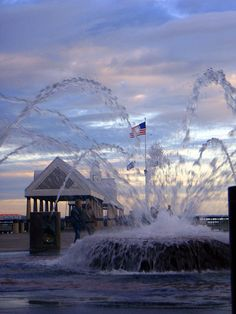 Waterfront Park - downtown Charleston