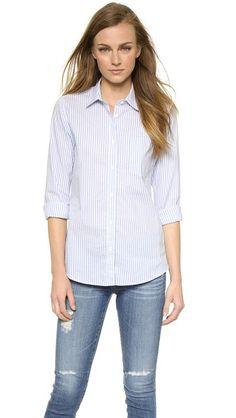 Steven Alan Untwisted BF Shirt #Shopbop