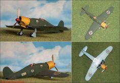 "Fiat G-50bis ""Freccia"" (Airfix 1046) 1:72"