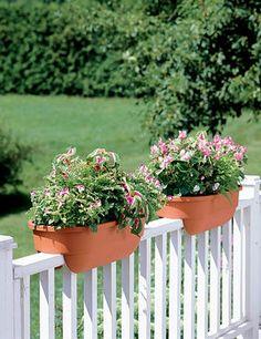 Railing Planters. Photo: Found On Gardeners.com