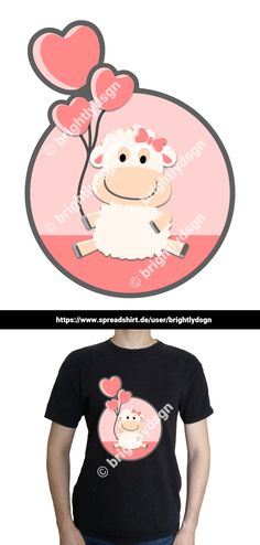Get this cute baby sheep design on various shirts, hoodies and other accessories - for kids, babies and people with a yound mind! Other Accessories, Fashion Accessories, Shirt Designs, Baby Sheep, Heart Balloons, Animal Fashion, Typography Prints, Cute Babies, Cute Animals