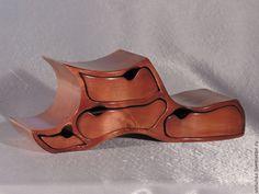 Купить Комодик Башмачок. - коричневый, комодик, шкатулка, деревянная шкатулка, комодик для украшений, подарок девушке