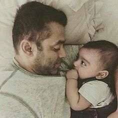 Salman Khan has always been a family man and goes to great lengths for the ones he loves. He's incredibly fond of his youngest sister Arpita Khan and it's but natural that Sallu dotes on her little son Ahil. celebrity news bollywood news Bollywood Stars, Bollywood News, Bollywood Updates, Indian Celebrities, Bollywood Celebrities, Bollywood Couples, Celebrity Kids, Celebrity Gossip, Salman Khan Wallpapers