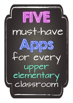 At Whit's End: Back 2 School & Technology Buzz 5 must have apps for upper elementary / primary AR Augmented reality 21st Century Classroom, 21st Century Learning, Teaching Technology, Educational Technology, Technology Tools, Technology Integration, Teacher Tools, Teacher Resources, Teacher Stuff