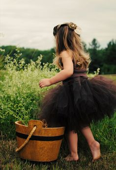 Perfect tutu dress for the little flower girl :)