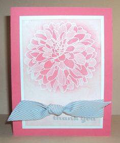 Regarding Dahlias stamp set from Stampin' Up! http://www.stampwithamy.com/2013/08/regarding-dahlias.html