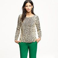Leopard + Emerald= Awesome color/pattern combo!