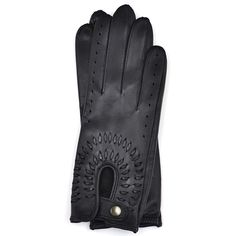 Driving Gloves for Woman in Black Leather with Lacing Driving Gloves, Women Accessories, Black Leather, Woman, Lace, Fashion, Moda, Fashion Styles, Women