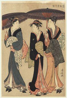 UKIYO - E.........BY UTAMARO KITAGAWA.......BING IMAGES..... #Ukiyoe