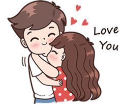 Line art illustration girl 62 Trendy ideas Cute Chibi Couple, Love Cartoon Couple, Cute Couple Art, Anime Love Couple, Cute Couples, Cute Love Stories, Cute Love Pictures, Cute Cartoon Pictures, Cute Love Gif