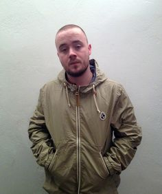 Maverick Sabre looking the part in this Duffer Tokyo Jacket.