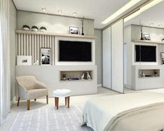 Fine Quarto Decorado Com Foto that you must know, Youre in good company if you?re looking for Quarto Decorado Com Foto Eating Before Bed, Closet Bedroom, Master Bedroom, Trendy Bedroom, Closet Organization, How To Plan, Living Room, Inspiration, Furniture