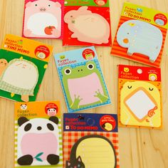 4 Pcs Packed Lovely Food Egg Sticky Note Message Stickers Notebook Stationery