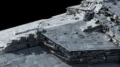 Imperator-class Star Destroyer Redux by Ansel Hsiao, Fractalsponge Imperial Army, Star Wars Ships, Star Destroyer, Geek Culture, Image Shows, Warfare, Close Up, Stars, Awesome