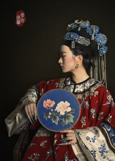 "changan-moon: "" Qing dynasty fashion by 叁木映画ForestStudio "" - clothing online womens, brand name clothing online canada, top women clothing stores *ad Traditional Fashion, Traditional Dresses, Traditional Chinese, Oriental Fashion, Asian Fashion, Chinese Style, Chinese Art, Chinese Garden, Costume Ethnique"
