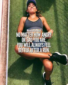 Laufen ist besser als Therapie Running Memes, Running Quotes, Running Motivation, Running Workouts, Running Tips, Fitness Motivation Quotes, Weight Loss Motivation, Marathon Motivation, Keep Running