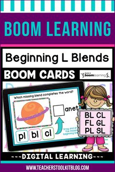 THIS IS AN INTERACTIVE DIGITAL RESOURCE. Download the preview to play a shortened version of the Boom Deck – this will help you decide if the resource is suitable for your students. ABOUT THIS BOOM DECK: Help your students practice L blends with this set of digital task cards. Students will look at the picture clue, then choose the correct blend to complete the word. Students will drag and drop the correct blend, from a choice of 3, into the blank box.