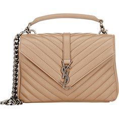 Saint Laurent Medium Denim Mongramme Chain Bag (\u20ac1.650) ? liked ...