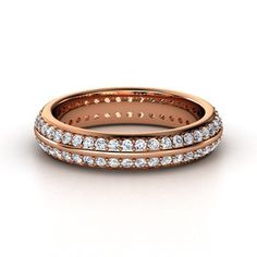 Double Pave Band. B-E-A-U-T-I-F-U-L.    #AGJewelry  #theseareafewofmyfavoritethings