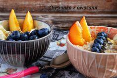Owsianka z owocami - Kulinarna Maniusia - blog kulinarny