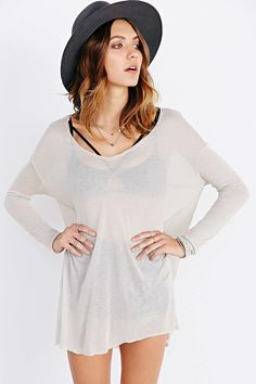 Project Social T Love My Dolman Top - Urban Outfitters | Layering essential