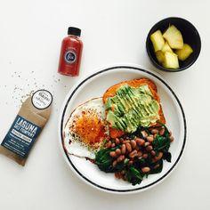 "jeannette ogden on Instagram: ""sunday breakfast lookin good  #shutthekaleup…"
