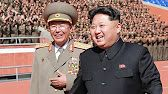 A man identified by South Korean media as Ri Yong-Gil (L), chief of the Korean People's Army General Staff, pictured with North Korean leader Kim Jong-Un at a parade in Pyongyang in an undated image released by the Korean Central News Agency (KCNA) Kim Jong Un, Donald Trump, Korean Military, Nuclear Test, Korean Peninsula, Ballistic Missile, Rocket Launch, Korean People