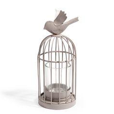 Bougeoir solo Cage oiseau