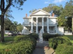 Look at this gorgeous Grand Dame of a Texas home!! This turn-of-the-century plantation style property sits on an acre and is exquisitely renovated. It boasts imported chandeliers & Venetian cabinet, hand cut granite & marble flooring in bathroom and gorgeous hardwood floors thru out. And to top it off, Eagle Lake is the Goose Capital of Texas!!