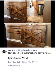 56 Best Barn Door Baby Gate Images On Pinterest Wall Cladding