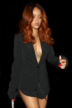 copper hair on black women - Google Search