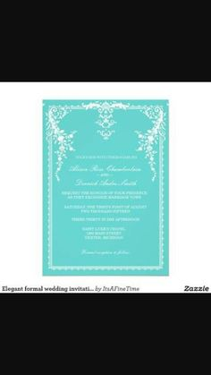 Menu azul tiffany por dentro