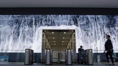 Salesforce approached Obscura with the opportunity to create imaginative media for the 107' long LED video wall in the lobby of their flagship San Francisco…