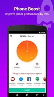 Turbo Cleaner - Boost, Clean: miniatura de captura de pantalla