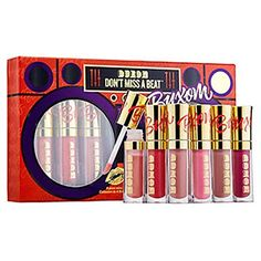 Buxom Dont Miss A beat FullOn Lip Polish Collection  Limited Edition *** Click image for more details.