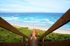 Stairs to the beach - Esperance, Western Australia