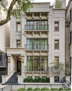 House Windows, Facade House, Facade Design, Architecture Design, Create Your House, Balkon Design, Apartment Entryway, Cool Apartments, City Living