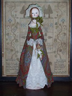Primitive Queen Anne Inspired Doll