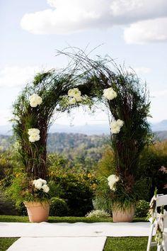Unique Wedding Arch