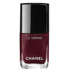 Pin for Later: 10 Chic Chanel Products Every Sophisticated Woman Needs to Own Chanel Le Vernis Nail Color in Vamp