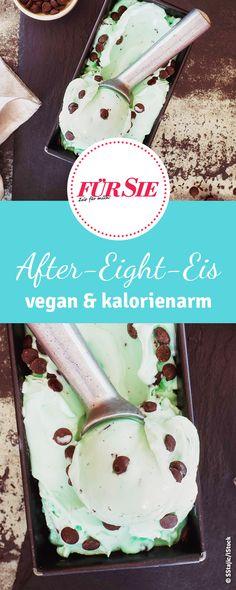 Nicecream gibt es auch mit After Eight Geschmack. Wir haben das vegan Rezept für das Pfefferminz Eis für euch.