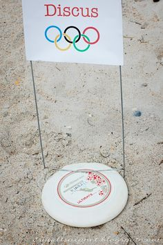 Summer Olympics Party {Party Games} via TipJunkie.com