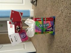 Birthday gift! Candy, iTunes, target, etc. i love this because it gives me and the giftee options :)