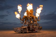 Burning Man - Late August, early September - Black Rock desert Nevada