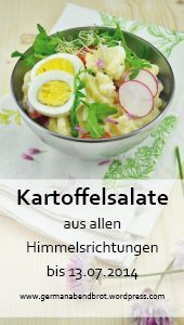 Blogevent – Kartoffelsalate aus allen Himmelsrichtungen